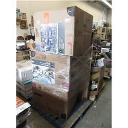 Skid of Unassembled Patio Furniture - Store Return