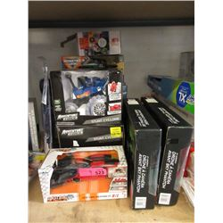 9 Assorted Toys - Most are R/C - Store Returns
