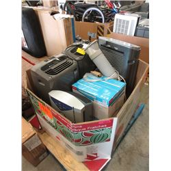 Skid of Portable Air Conditioners & a Dehumidifier