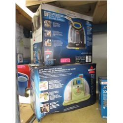 2 Bissell Carpet Shampooers - Store Returns