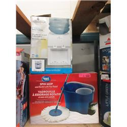 Counter Top Water Dispenser & Mop with Bucket