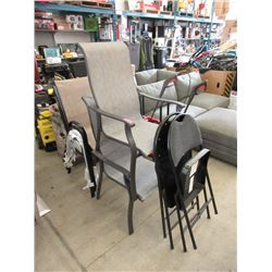 2 Folding & 5 Patio Chairs