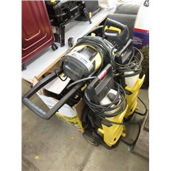 4 Karcher Pressure Washers - Store Returns