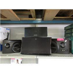 iLuv Speaker & 3 Monster Speakers
