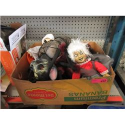 Box of Assorted New Halloween Decorations