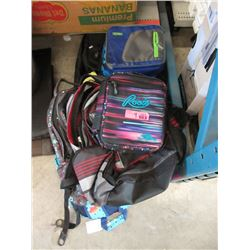 9 Backpack & Lunch Bags - Store Returns