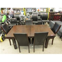 Dining Table with 5 Chairs - Store Return