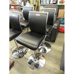 2 Adjustable Height Bar Chairs - Store Return