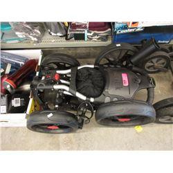Folding Caddy Tek Golf Cart Caddy