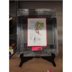 """Richard Shorty Framed Print """"Quiet of the Night"""""""