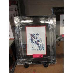 "Richard Shorty Framed Print ""Dolphin"""