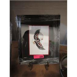"""Richard Shorty Framed Print """"Eagle"""""""
