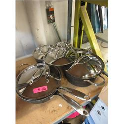 5 Cookware with Lids - Store Returns