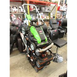 4 Battery Operated Lawnmowers - Store Return
