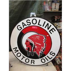 """32"""" Metal Mohawk Motor Oil Sin - Reproduction"""