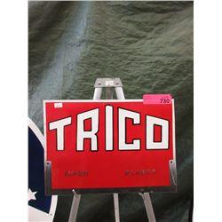 Metal Trico Wiper Blade Sign - Repainted