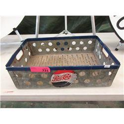 Metal Pepsi Crate
