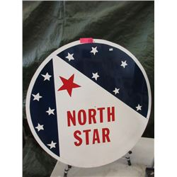 """North Star 32"""" Metal Sign - Reproduction"""