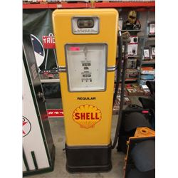 Vintage Restored Shell Gas Pump