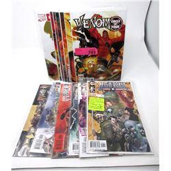 6  Venom  and 6  High Roads  Comics