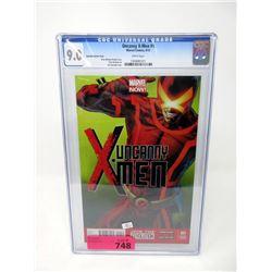 "Graded 2013 ""Uncanny X-Men #1"" Marvel Comic"