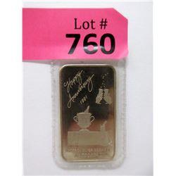 """1 Oz .999 Fine Silver """"Happy Anniversary"""" Bar"""