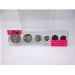 1966 Canadian .800 Silver Coin Set