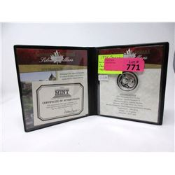 1994 Winnipeg .500 Silver Dollar in Special Case