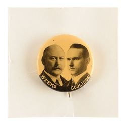 Calvin Coolidge and John W. Weeks