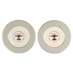 Dwight D. Eisenhower Commemorative Birthday Plates