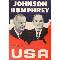 Lyndon B. Johnson and Hubert Humphrey