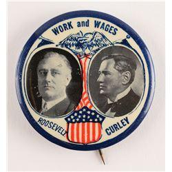 Franklin D. Roosevelt and James Curley