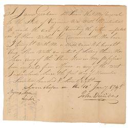 Virginia 'Slave Non-Importation' Document
