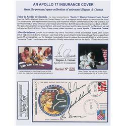 Gene Cernan's Apollo 17 Anniversary Cover