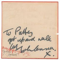 Beatles: Lennon and Harrison