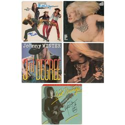 Johnny and Edgar Winter and Rick Derringer