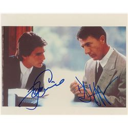 Tom Cruise and Dustin Hoffman