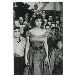 The Pride and the Passion: Sophia Loren Original Photograph by Ernst Haas