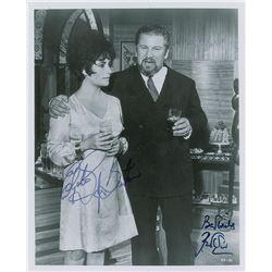 Elizabeth Taylor and Peter Ustinov