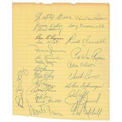 Baseball Stars and Hall of Famers
