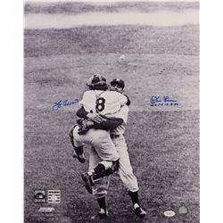 Yogi Berra and Don Larsen