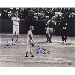Carlton Fisk and Pat Darcy