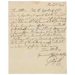 King George III Autograph Letter Signed
