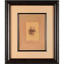 Abraham Lincoln Signed Photograph