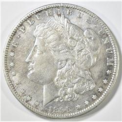 1895-S MORGAN DOLLAR, AU
