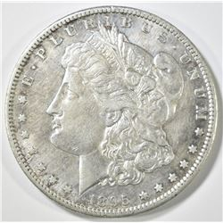 1895-S MORGAN DOLLAR, AU
