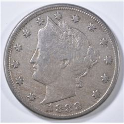 1888 LIBERTY NICKEL  F/VF