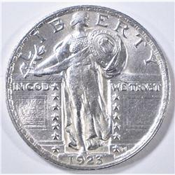 1923 STANDING LIBERTY QUARTER  CH BU