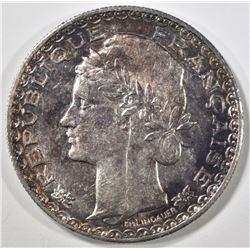 1931-A SILVER PIASTER FRENCH INDO-CHINA CH BU