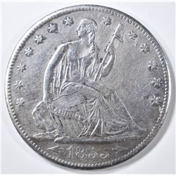 1855-S SEATED LIBERTY HALF DOLLAR  VF/XF